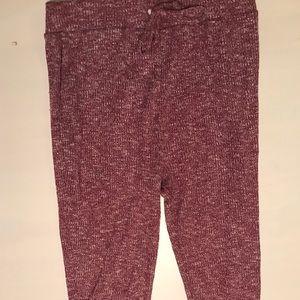 Gymshark Slounge Leggings - Red/Pink Color!!